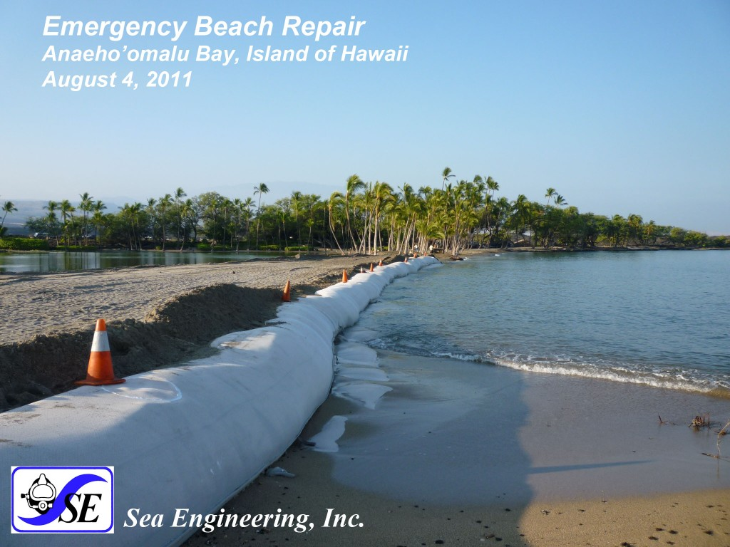 Completed Beach Repair 2011-08-04